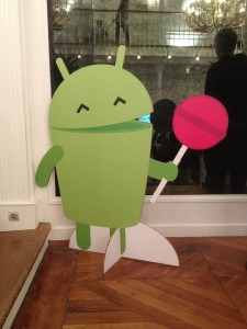 My new friend, Android Lollipop